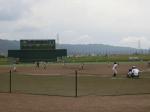 2017年6月18日(日)マイナー花園セントラル球場で練習試合